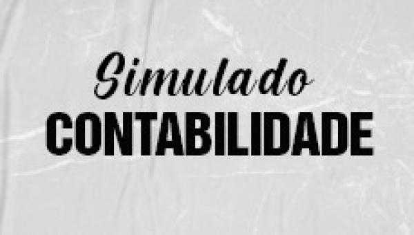 Simulado 1 - Contabilidade