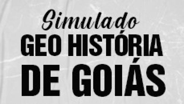 Simulado 1 - Geo-História de Goiás